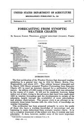 Forecasting from synoptic weather charts