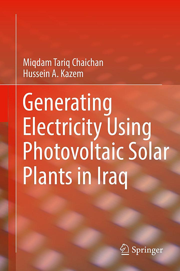 Generating Electricity Using Photovoltaic Solar Plants in Iraq