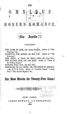 The Omnibus of Modern Romance PDF
