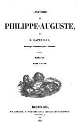 Histoire de Philippe-Auguste: Volumes3à4