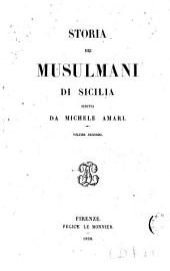 Storia dei Musulmani di Sicilia: Volume 2