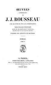 Oeuvres complètes de J.J. Rousseau: Volume4