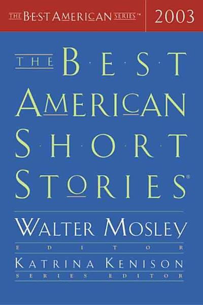 Download The Best American Short Stories 2003 Book