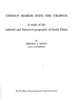 China s March Into the Tropics