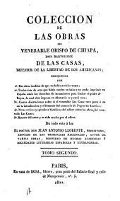 Colección de las obras del venerable obispo de Chiapa: Volumen 2