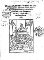 Sermones de tempore et de sanctis. Sermones quadragesimales