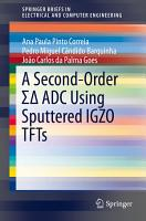 A Second Order      ADC Using Sputtered IGZO TFTs PDF