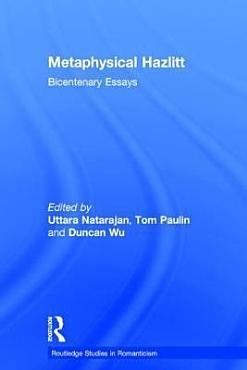 Metaphysical Hazlitt PDF