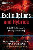 Exotic Options and Hybrids PDF