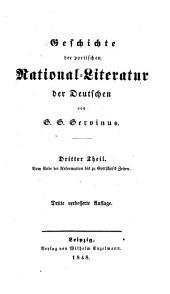 Geschichte der poetischen national-literatur der Deutschen: Band 3