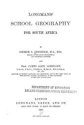 Longman's School Geography for South Africa