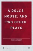 A Doll s House PDF