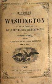 Histoire de Washington et de la fondation de la république des États-Unis