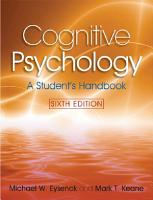 Cognitive Psychology PDF