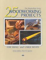 25 Woodworking Projects for Small and Large Boats PDF
