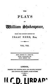 The Plays of William Shakespeare: Volume 8