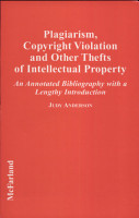 Plagiarism  Copyright Violation  and Other Thefts of Intellectual Property PDF