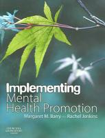 Implementing Mental Health Promotion PDF