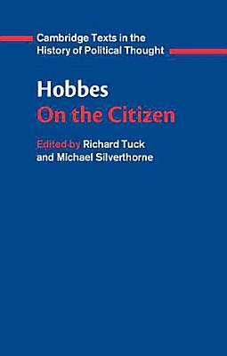 Hobbes  On the Citizen