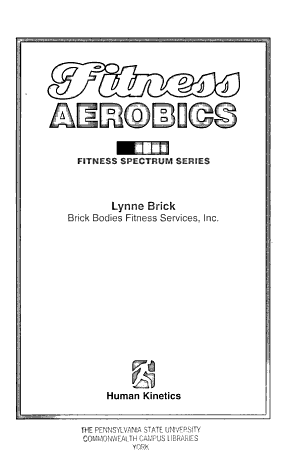 Fitness Aerobics PDF
