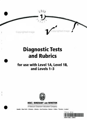 Diag Tests   Rubrics Allez Viens  2003 PDF