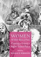 Women Who Belong PDF