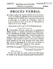 Séance du jeudi 15 août 1793... [Lettre du commissaire Paris au général Kellermann [14 août]]