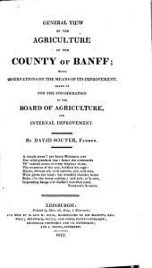 Agricultural Surveys: Banff (1812)