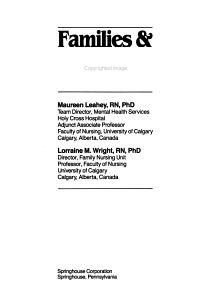 Families   Psychosocial Problems PDF