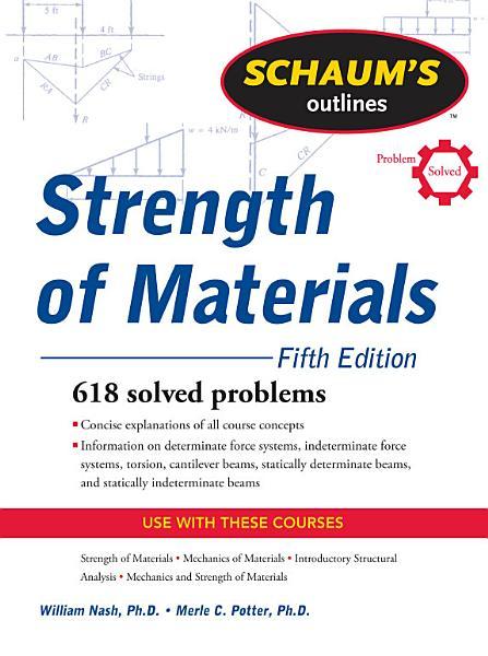 Schaum s Outline of Strength of Materials  Fifth Edition PDF