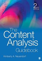 The Content Analysis Guidebook PDF