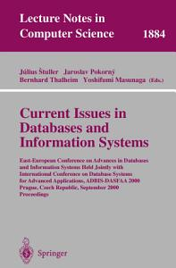 Current Issues in Databases and Information Systems PDF