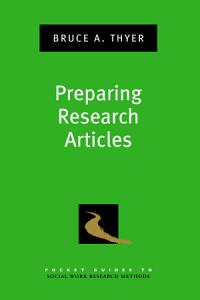 Pocket Guide to Preparing Social Work Research Articles PDF