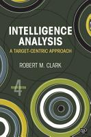 Intelligence Analysis PDF