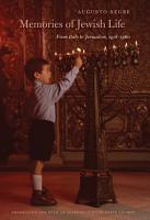Memories of Jewish Life PDF