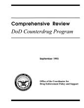 Comprehensive Review: Dod Counterdrug Program