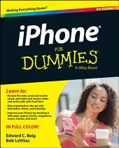 iPhone For Dummies: Edition 8