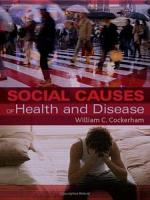 Social Causes of Health and Disease PDF