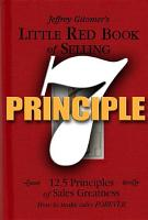 Little Red Book of Selling Principle 7 PDF