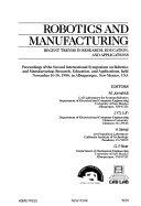 Robotics and Manufacturing