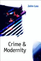 Crime and Modernity PDF