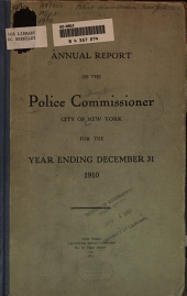 Annual Report, Year Ending December 31 ...: Volume 1910