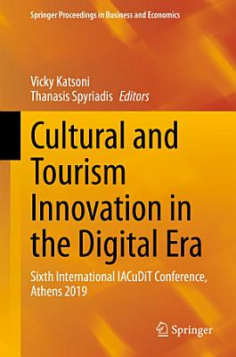 Cultural and Tourism Innovation in the Digital Era PDF