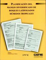 Planificaci  n del manejo diversificado de bosques latifoliados h  medos tropicales PDF