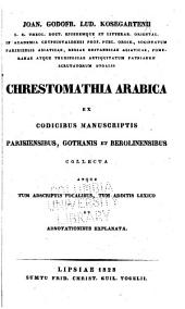 Chrestomathia Arabica