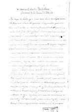 Lettres à monsieur le chevalier Van Ertborn, gouverneur de la province d'Utrecht et à M. Vande Weyer