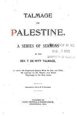 Talmage on Palestine PDF