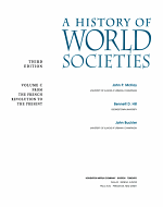 A History of World Societies: From the French revolution to the present