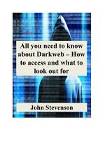 All you need to know about Darkweb – How to access and what to look out for