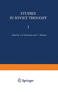 Studies in Soviet Thought PDF